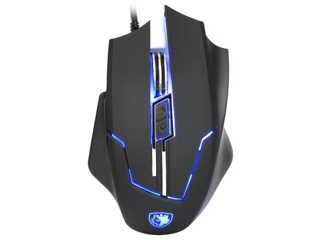 954f55efea4 SADES Q7 Gaming Mice 6 Buttons Professional LED Optical USB Wired Gaming  Mouse for PC Mac