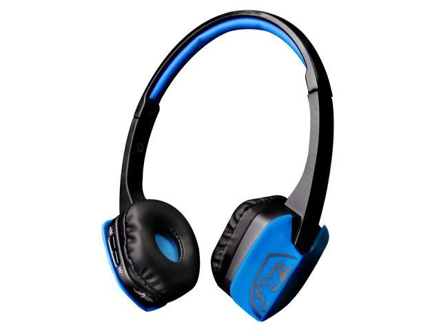 Sades D201 4 1 Bluetooth Headset Stereo Gaming Headphones With Mic Jack On Ear For Pc Laptop And Other Smart Phones Blackblue Newegg Com