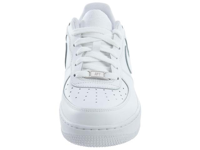 Nike Air Force 1 (GS) Youth Boys Size 3.5 White Basketball Shoes NewDisplay