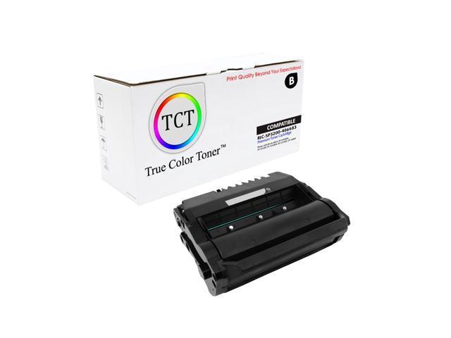 TCT Premium Compatible Toner Cartridge Replacement for Ricoh 406683 Black  works with Ricoh Aficio SP 5200DN 5210SF 5210DN 5210SR 5200S Printers