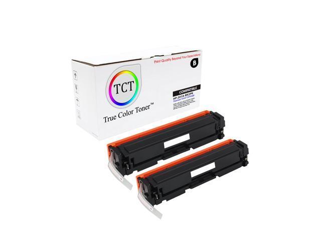 2pk Black CF400A 201A Toner Cartridge fit HP LaserJet Pro M252dw M277dw M277n