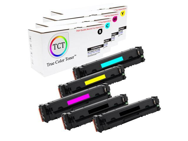 6-pk Toner Set For HP 204A Laserjet Pro MFP M181fw M180nw M180n M154nw CF510A