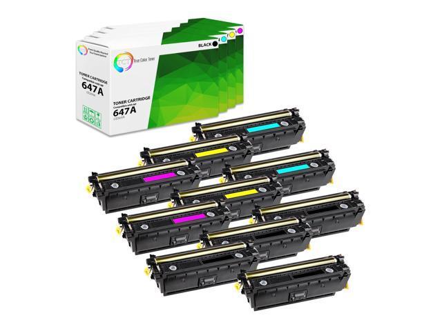 4 pk Black /& Color Toner Cartridge Set For HP 3600