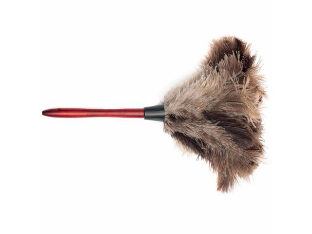 bad92c44042 New Anti-static Ostrich Feather Fur Brush Duster Home Dust Cleaner Wooden  Handle