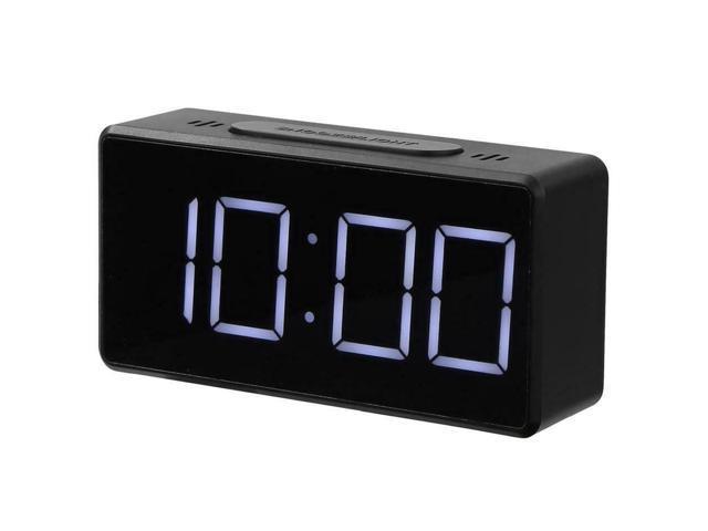 Electric Digital Led Alarm Clock Snooze Table Usb Clock Temperature Thermometer Newegg Com