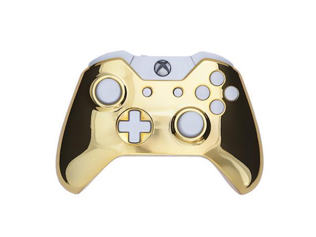 Xbox One Controller - Chrome Gold & White Edition ... Xbox 360 Controller Designs Gold