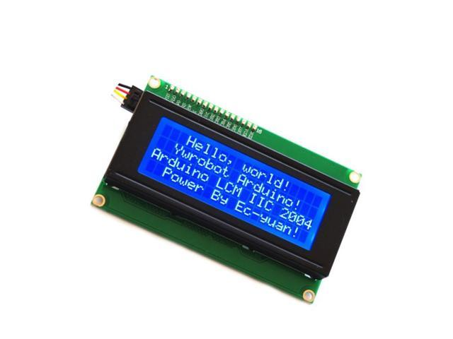 Blue IIC/I2C/TWI 2004 204 20X4 LCD Module Display For Arduino U - Newegg com