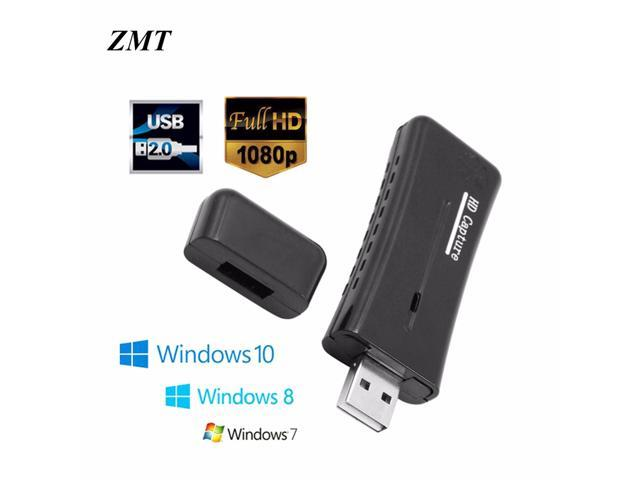 Portable HD USB 2 0 Port HDMI 1080P 60fps Mini Monitor Video Capture Card  For Computer PC Compatible For Windows XP/8 Sound Card - Newegg com