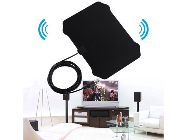 120 Miles TV Antena Digital HDTV Indoor TV Antenna with Amplifier Signal  Booster TV Radius Surf Fox Antena HD TV Antennas Aerial - Newegg com