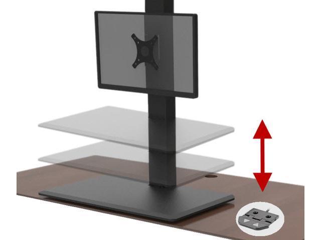 Ergoconvert Electric Standing Desk Extender Converter With Vesa