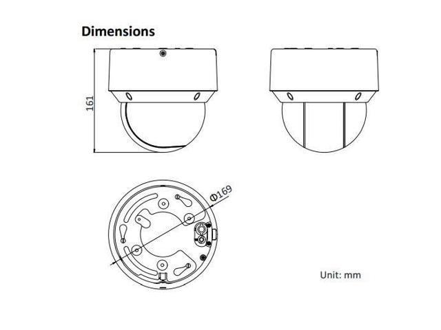 Upgradable Hikvision DS-2DE4A220IW-DE 2MP IP66 Network IR50m mini PTZ dome  Camera 20X onvif - Newegg com