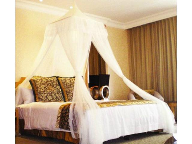 BALI RESORT Style DREAMMA Bed Canopy Mosquito Net Netting Mesh Bedroom  Curtains Net Bedroom Netting Curtains Mesh Décor