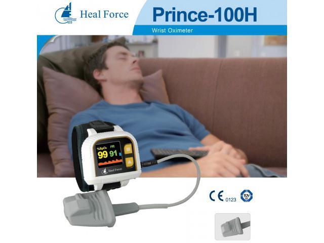 Heal Force Prince 100H OLED Finger Pulse Oximeter Wrist