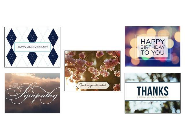 Greeting card assortment vp1607 business greeting cards featuring greeting card assortment vp1607 business greeting cards featuring anniversary birthday thank you m4hsunfo