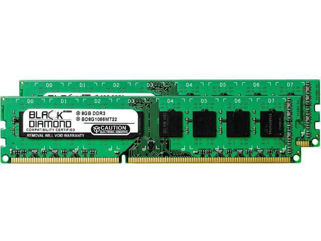 16GB 2X8GB RAM Memory for Blue Chip BUSINESSLine 5901 DDR3 DIMM 240pin PC3-8500 1066MHz Black Diamond Memory Module Upgrade
