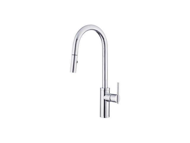 Danze D454058 Parma Cafe Pull-Down Kitchen Faucet w/ SnapBac - Newegg.com