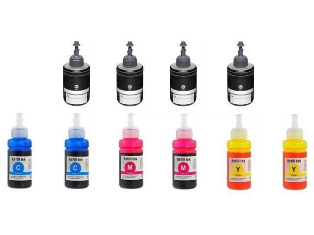 AIM Compatible Replacement - Epson Compatible NO  664/NO  774 Dye Ecotank  Ink Bottle Combo Pack (4-BK/2-C/M/Y) (T774D4B2CMY) - Generic - Newegg com