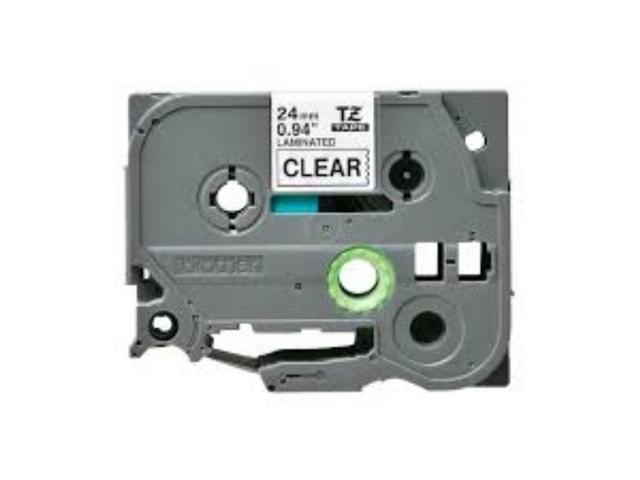 """2PK TZ 151 TZe-151 Black on Clear Label Tape For Brother P-Touch PT-2730 1/"""""""