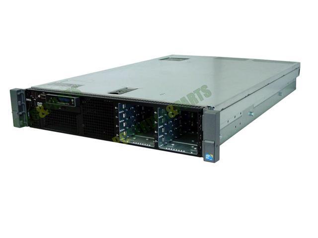 Dell Poweredge R410 2 X QUAD CORE 2.40GHZ E5620 2 x 1TB 16GB SERVER PERC6 500W