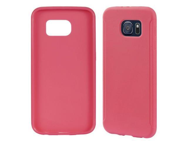 newest a37c6 2f63e Insignia Samsung Galaxy S6 HOT PINK Soft Cell Phone Case neon bright -  Newegg.com
