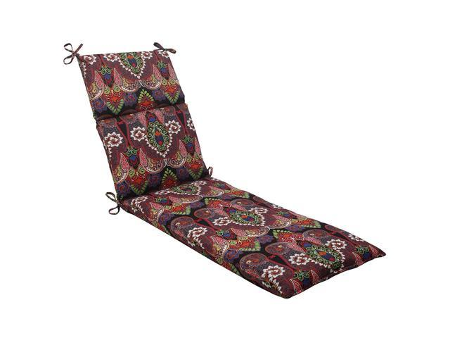 Pillow Perfect Indoor/Outdoor Marapi Chaise Lounge Cushion