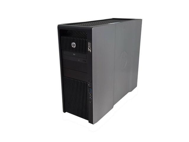 HP Z820 Workstation 2x E5-2637 v2 3.5GHz 8-Cores 256GB DDR3 Quadro 600 2TB HDD
