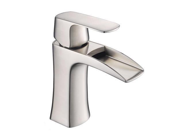 Fresca Fortore Single Hole Bathroom Vanity Faucet In Brushed Nickel Newegg
