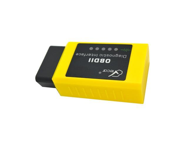 ELM327 Bluetooth OBD-II Software for Smartphone Android Symbian PC Windows  XP&7&8 Check Engine Light Read Diagnostic Trouble Codes ScanMaster ScanTool