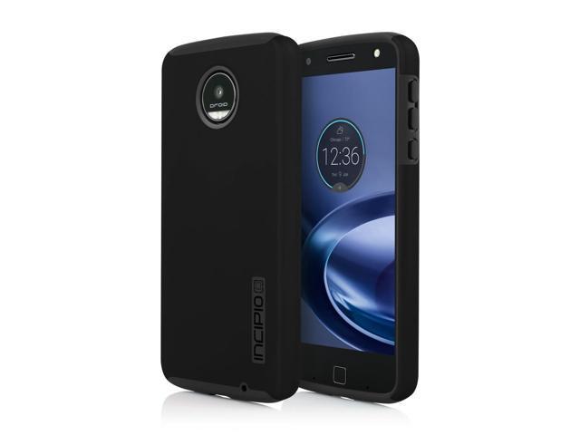 size 40 8ca05 2b4f6 Incipio DualPro Shock-absorbing Case for Moto Z Play Droid - Black/Black -  Newegg.com