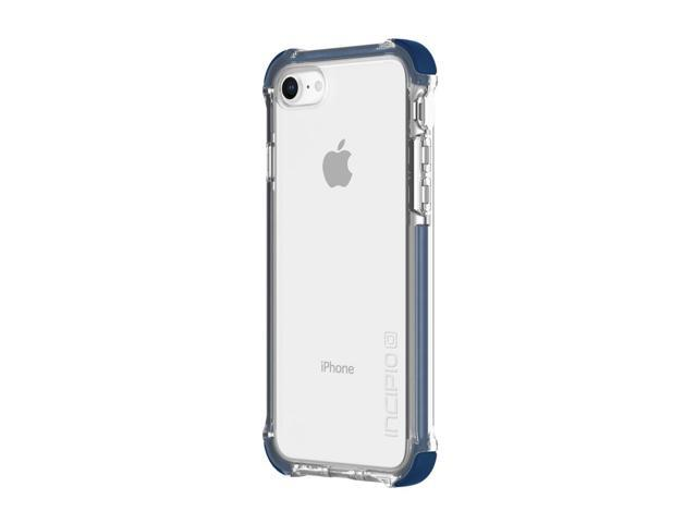 blue clear iphone 8 case