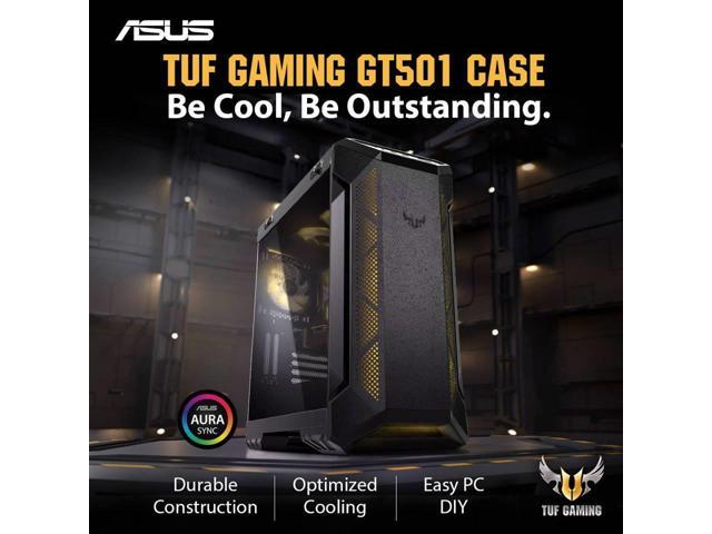 ASUS GT501 TUF 8-Core AMD RYZEN 7 3700X 3 6GHz - X570 TUF Chipset - 2TB  7200RPM + 120GB SSD - 64GB TUF DDR4 3000 - Nvidia GeForce RTX 2080 8GB  GDDR6 -