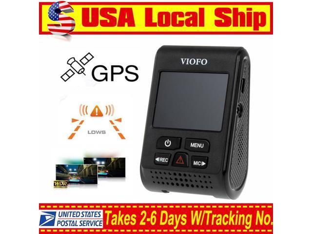 US Local Stock ! VIOFO A119 Capacitor Novatek 96660 2K 1080P 60fps Car Dash  Camera DVR+GPS Module - Newegg com