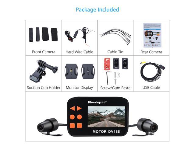 DV188 Action Sports Camera Video DVR Bike Motorcycle Car Vehicle Cam on