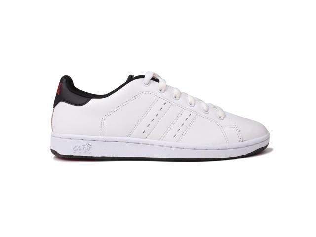 Lonsdale Mens Leyton Leather Trainers