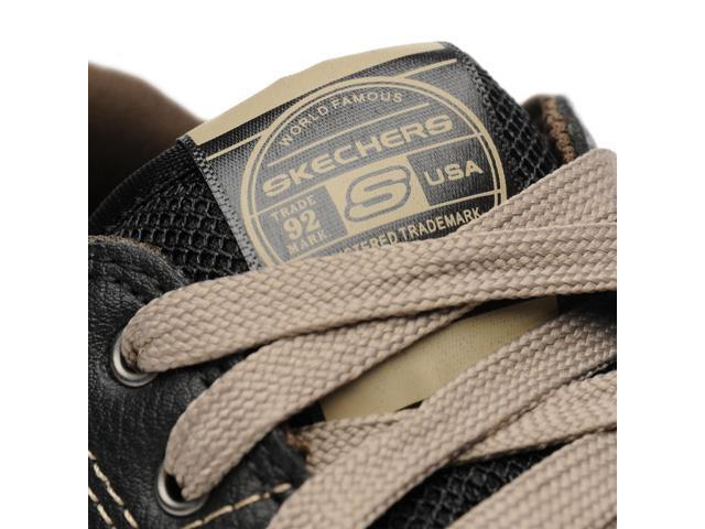 Skechers Mens Urban Tread Refresh Leather Shoes Casual Shoes Footwear
