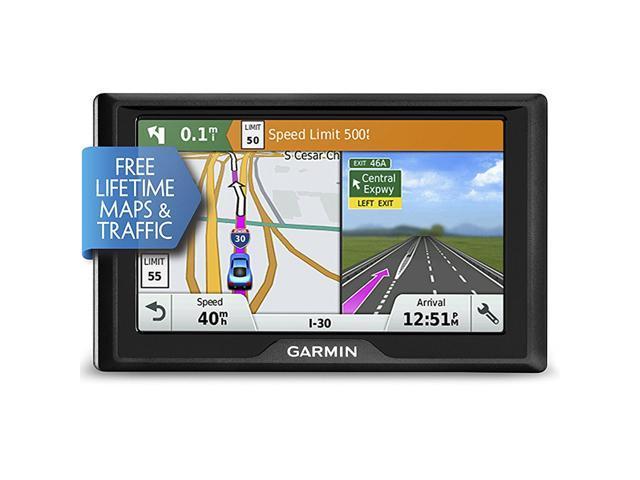 Garmin Drive 50 USA LMT GPS Navigator System with Lifetime Maps, Traffic,  Driver Alerts, and Foursquare Data - Newegg com