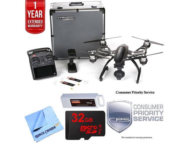 Yuneec Typhoon Q500 4K Quadcopter Drone UHD Ultimate Bundle - Newegg com
