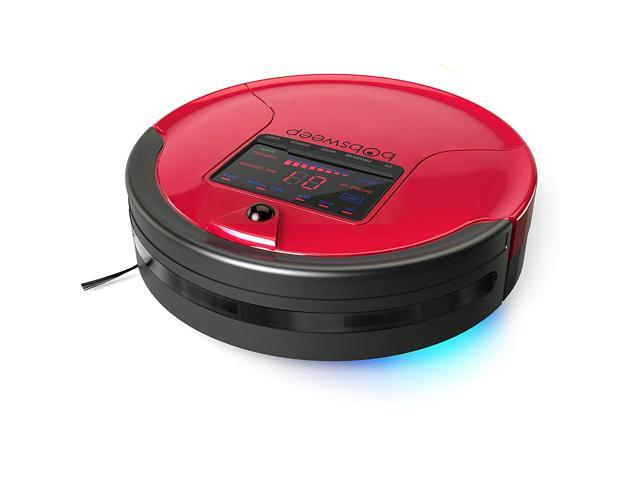 Bobsweep Pethair Robotic Vacuum Cleaner And Mop Rouge