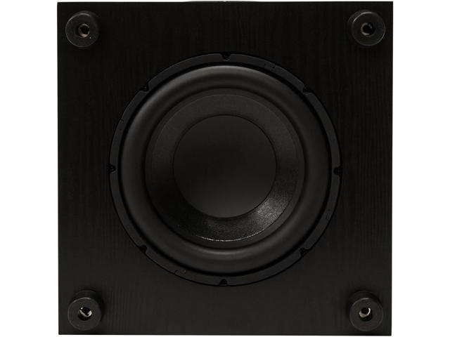 Pioneer 100-Watt Powered Subwoofer with Banana Plugs /& Cables Bundle