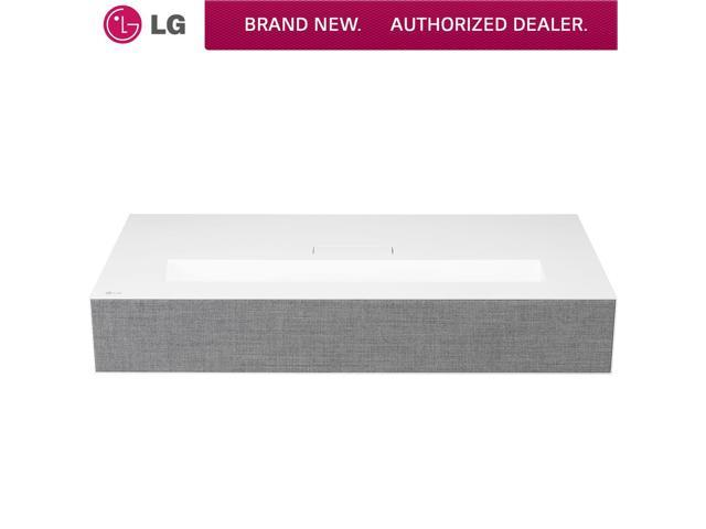 LG HU85LA HDR XPR 4K UHD Ultra-Short Throw Laser DLP Home Theater Projector  - White - Newegg com
