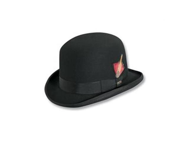 Dorfman Pacific WF506-BLK5 Wool Felt Derby Hat b55206cc272