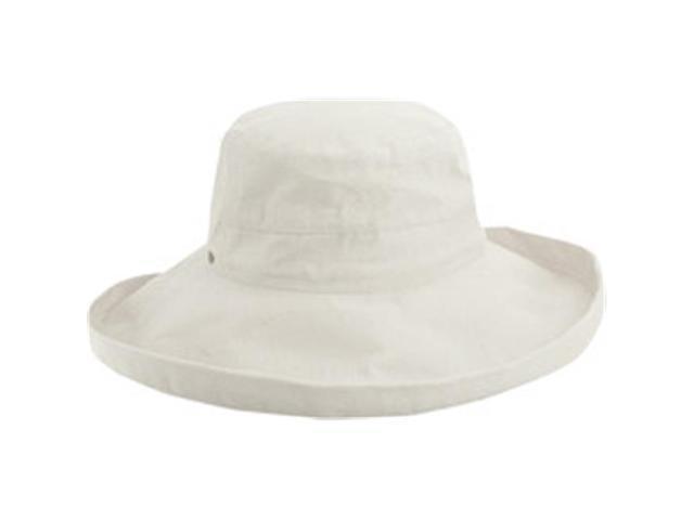98f3bbc9631 Dorfman Pacific LC399-WHT Womens Scala Cotton Big Brim Hats ...