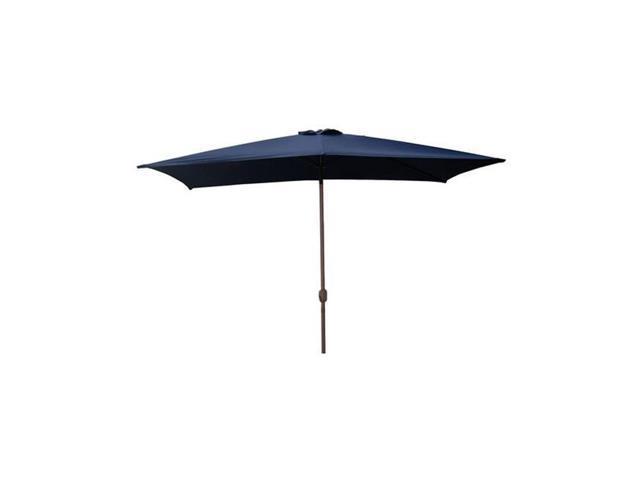 Northlight 6 5 Ft Outdoor Patio Market Umbrella With Hand Crank