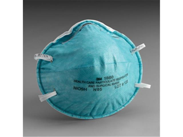 3m Surgical Headband Mask amp; Particulate Respirator Cone 1860