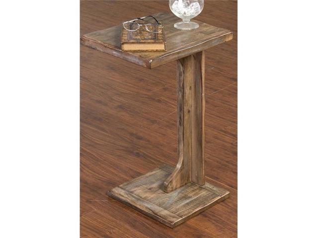 Sunny Designs 2259wb Sofa Mate Table Weathered Brown