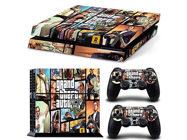 Grand theft auto v 5 gta v 5 ps4 skin stickers for playstation 4 ps4 console