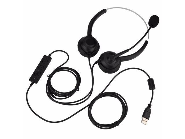 Mute Function Call Center Usb Headset Noise Cancelling Usb Call Center Headset With Microphone 2018 Newegg Com