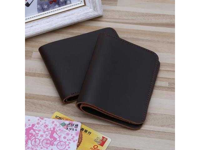 c542659fb114 THINKTHENDO Fashion Men's Leather Slim Mini Credit Card Holder Clutch  Bifold Coin Purse Wallet Pockets Hot - Newegg.com