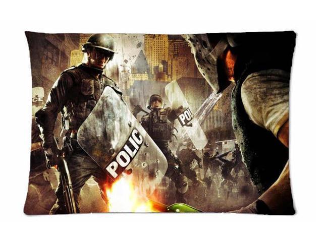 Urban Chaos Riot Response Pillowcases Custom Pillow Case Cushion Cover 20 X  30 Inch Two Sides - Newegg com