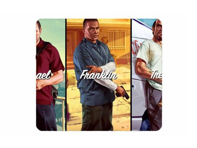 Customized Mousepad Michael Fanklin Trevor GTA 5 Gaming Mouse Pad Mouse Mat  Size:8